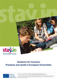 Guidance for inclusion: practices and needs in European Universities | stay-in | Aqua-tnet | Scoop.it