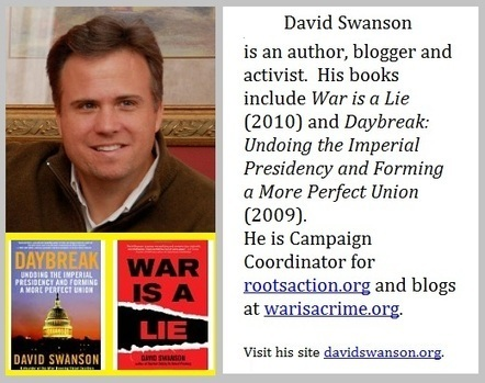 Stop Imperialism » Interview - David Swanson 08-22-12 | News on World Events | Scoop.it