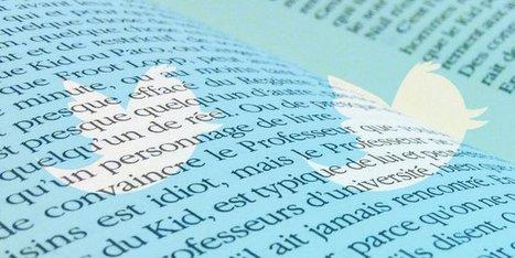 Les écrivains cèdent au gazouillis de Twitter | Culturebox | BiblioLivre | Scoop.it