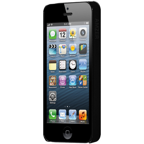 Amzer 1 MM Super Slim Simple Case with Screen Protector for iPhone 5s | iPhone 5S | Scoop.it