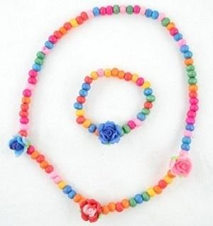 Angel Glitter Colourful Lovely Roses Jewellery Set | Adventure World | Scoop.it