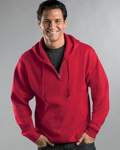 Quarter Zip Hoodie | Buy Champion Fleece Quarter-Zip Pullover Hood | Fantastic style of black vest top | Scoop.it