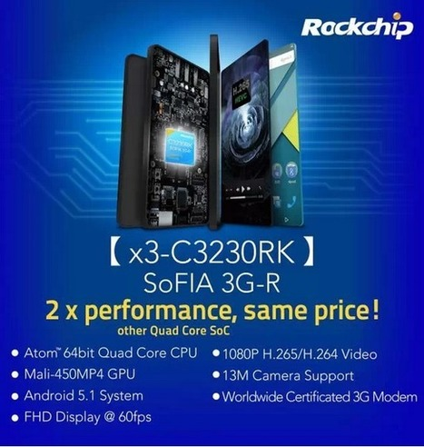 Rockchip Evercoss Announces New SoFIA 3G-R C3230RK call tablet Winner Tab S3 - eleZine - Magazine About Electronics | Processors | Scoop.it