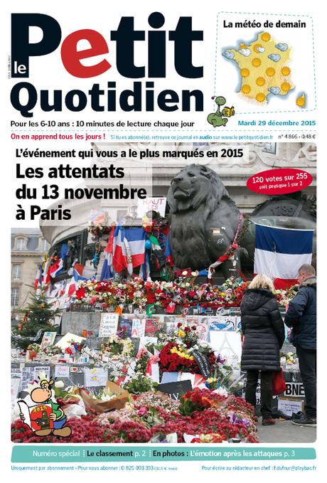 Le Petit Quotidien, le seul journal d'actualité pour les enfants de 6-10 ans | Le Top du FLE | Scoop.it
