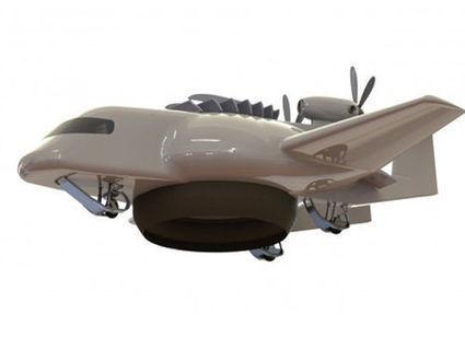 L'avion du futur sera à mi-chemin entre hélicoptère et aéroglisseur | Aw3some Pr0ducts | Scoop.it
