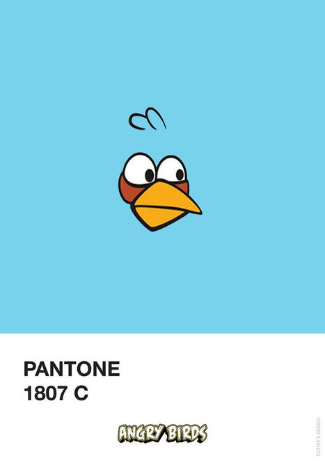 La Criatura Creativa: Angry Birds & Pantone | aboutdiseno | Scoop.it