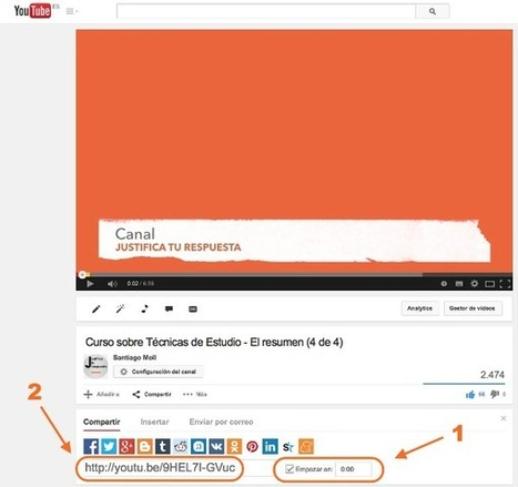 Un truco de Youtube increíble y que muy poca gente sabe | E-learning, Moodle y la web 2.0 | Scoop.it