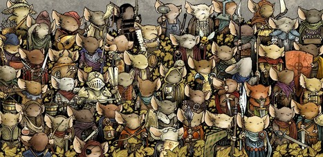 mouse-guard-rpg-cover | Glanages & Grapillages | Scoop.it