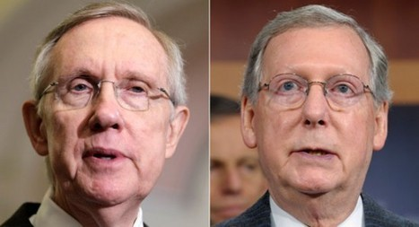 Harry Reid Blocks Second Attempt By McConnell To Force Senate Vote On Obama's Fiscal Cliff Plan… | Littlebytesnews Current Events | Scoop.it