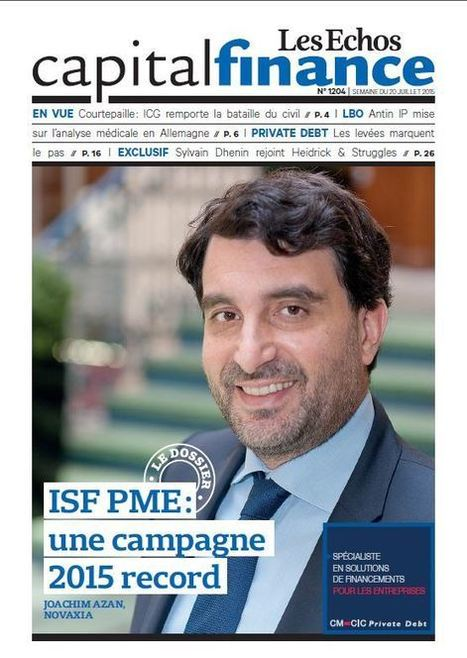 ISF PME : une collecte record de 800 M euros, Enquêtes - Capital Finance | Venture Capitalists | Scoop.it