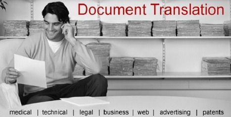 What is the need of a Document Translation Company? | Arabic language Translation | Scoop.it
