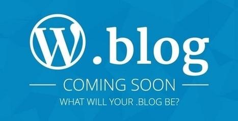 Vous pourrez bientôt acheter un nom de domaine en .Blog   Référencement internet   Scoop.it