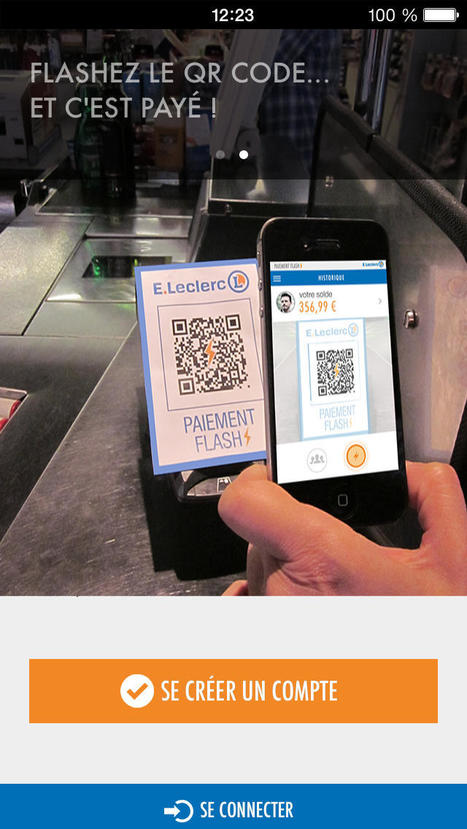 Leclerc lance sa propre solution de paiement sur mobile | Applis & grigris | Scoop.it