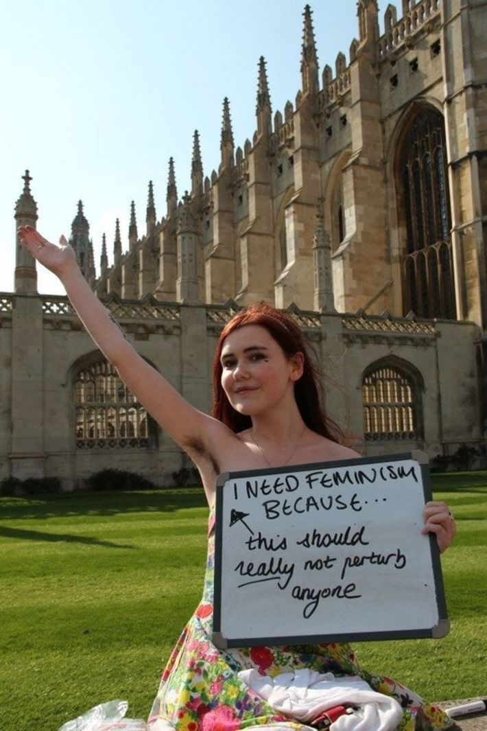 Cambridge students tell us why they need feminism | Dare To Be A Feminist | Scoop.it