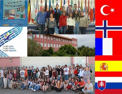 I can see. I can hear. I can SPEAK. Asociación escolar Comenius del IES Tegueste | Programas Europeos de Educación en Canarias | Scoop.it