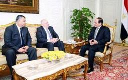 Egypt's president meets CIA director in Cairo for talks - The Times of India | Syrian  and Turkey | Scoop.it