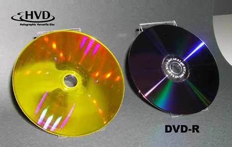 500 Giga sur un seul disque holographique | A l'ère du webmarketing. | Scoop.it