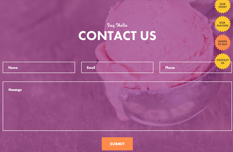 La page contact : conseils et ressources pour cette incontournable (Webdesignertrends) | UX & expériences informatives | Scoop.it