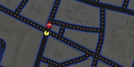 « Pac-Man » s'INVITE dans Google Maps | Machines Pensantes | Scoop.it