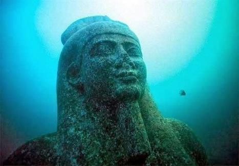 Thonis-Héraklion: la découverte d'une cité engloutie | Les découvertes archéologiques en image | Découvertes achéologiques en Egypte | Scoop.it