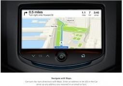 iOS connecte les voitures de demain | mobilesmag | Open source car | Scoop.it