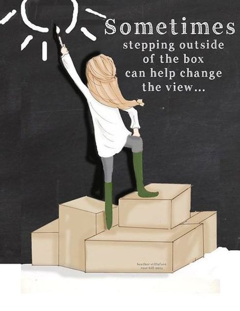 Stepping Outside | Leadership, Innovation, and Creativity | Scoop.it