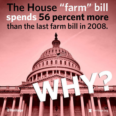 SAY NO! TO BLOATED Farm Bill | Ask John Boehner WHY 1] is 80% FOOD STAMPS,  2]includes CHRISTMAS TREE TAX 3] 56% Bigger than last farm bill, etc. | News You Can Use - NO PINKSLIME | Scoop.it