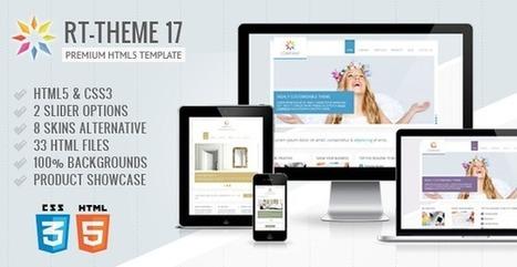Top 10 Best HTML Templates - 2013 Edtion,WPChart.com   Web design   Scoop.it
