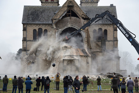 Germans outraged as historic church makes way for coal mine | Heritage in danger (illicit traffic, emergencies, restitutions)-Patrimoine en danger | Scoop.it
