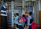 UNICEF - At a glance: Occupied Palestinian Territory - The Barrier makes getting to school a daily ordeal for children in Abu Dis, in the Occupied Palestinian Territory | Occupied Palestine | Scoop.it