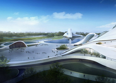 Harbin Cultural Center Designed by MAD Architects | PROYECTO ESPACIOS | Scoop.it