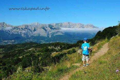 Nouveau topo : randonnée familiale sur le canal de Malcros (05). | Topo et fiche de randonnée à pied by eskapad | Scoop.it