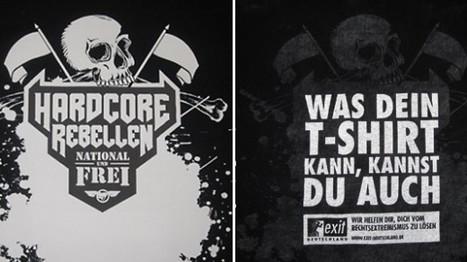 SURPRISE – Des skinheads allemands piégés par un T-shirt (Les Inrocks.com) | Think outside the Box | Scoop.it