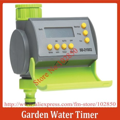 Aliexpress.com : Buy Garden Electronic Water Timer with LCD display,Auto Irrigation System Controller Timer from Reliable garden water timer suppliers on Sunhome Technology Co.,Ltd | 40% off From Sunhome techonology | Scoop.it