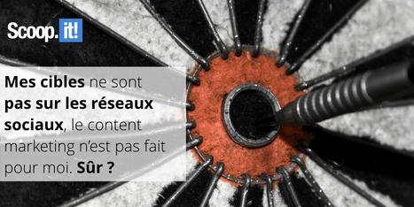 Pourquoi faire du content marketing quand mes cibles ne sont pas sur les réseaux sociaux ? - Blog Scoop.it France | Communication WEB - Réseaux Sociaux - Veille - Content Marketing - SEO | Scoop.it