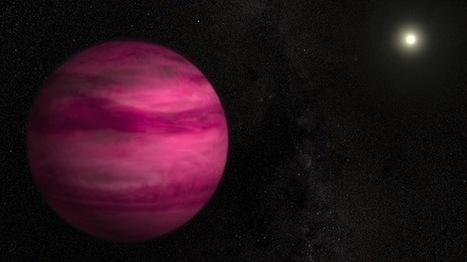 Pink Alien Planet Is Smallest Photographed Around Sun-Like Star | Tout est relatant | Scoop.it