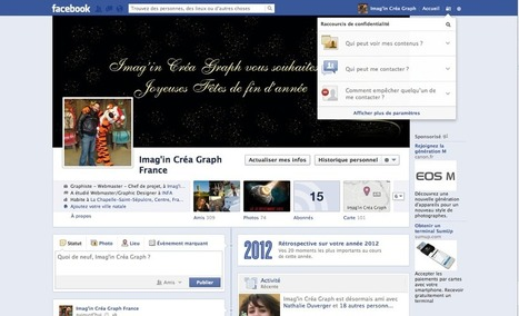 Photos du journal   Facebook   Imagincreagraph.com   Scoop.it