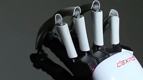 Exoskeleton Gloves allow you to feel in VR and other News | Technology in Business Today | Scoop.it