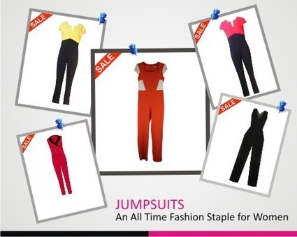 Jumpsuits- An All Time Fashion Staple for Women | Besaz Boutique | Scoop.it