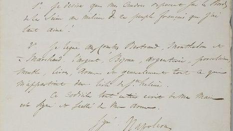 Le testament de Napoléon sort de l'exil | L'Histoire avec Histoire Multimédi@ Production. | Scoop.it