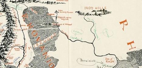 英國珍古書店意外發現托爾金親手註釋中土大陸地圖,號稱20年來最完好!   Library Watch 台灣與大陸即時新聞   Scoop.it