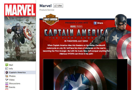 Captain America: The First Avenger Targets Social Media Success | On Hollywood Film Industry | Scoop.it