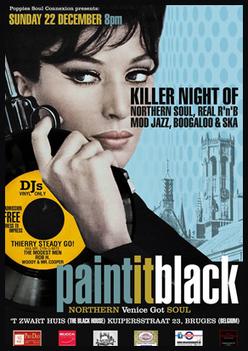 Paint It Black Night | Mod Scene Weekly | Scoop.it