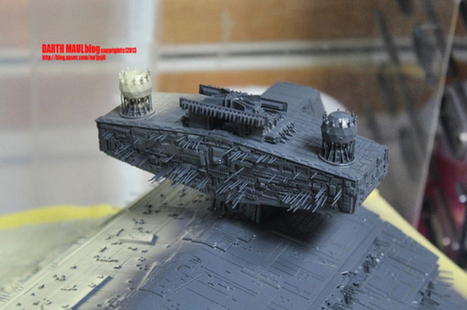 Turns Out There Is A More Detailed Star Wars Star Destroyer After All | star wars world war 2 | Scoop.it
