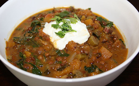 Meatless Monday: Lentil and Butternut Squash Curry | Reboot With Joe | Simply Grow Great Food | Scoop.it