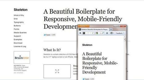 24 Examples of Responsive Website - BM/blog | responsive design II | Scoop.it