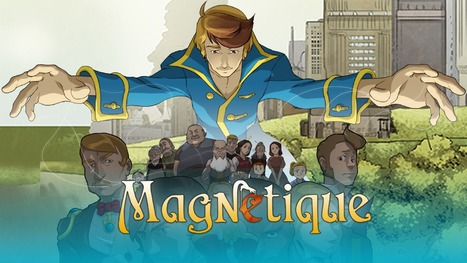 Magnetique Is The World's First VR Comic With 3D, 360 Degree Panels | Transmedia Storytelling meets Tourism | Scoop.it