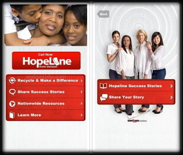 Verizon's HopeLine App Provides Support To Victims Of Domestic Violence | App4That | Scoop.it