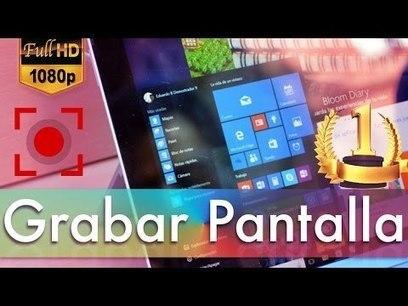 PCWebtips: 5 Programas para Grabar la Pantalla de Windows PC 2016 - Gratis y de Pago | Educacion, ecologia y TIC | Scoop.it