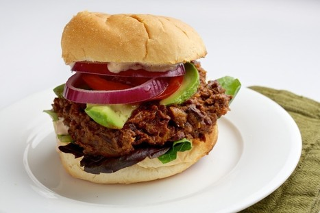 Black Bean Tortas With Chipotle Mayo | My Vegan recipes | Scoop.it